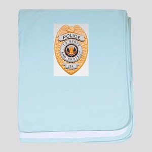 Police Badge Baby Blanket