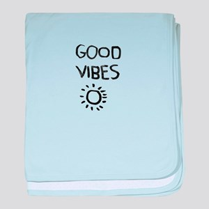 Good Vibes baby blanket