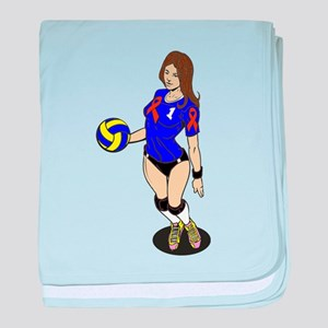 Multiple Sclerosis Funny Baby Blankets - CafePress
