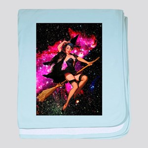 Sexy Cosmic Witch baby blanket