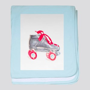 Roller Skate Baby Blanket By Casey Keith Design
