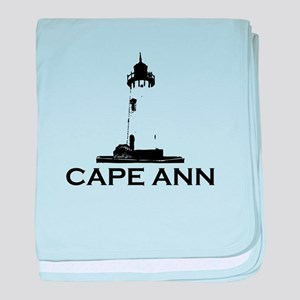 Cape Ann - Lighthouse Design. baby blanket
