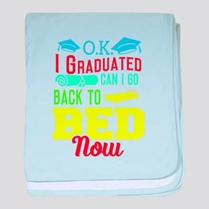 Graduation For Her Baby Blankets - CafePress
