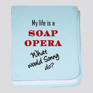 What Would Sonny Do? baby blanket