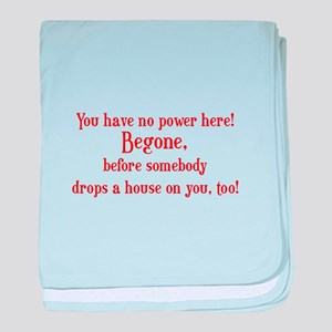 Classic Movie Quotes Baby Blankets - CafePress