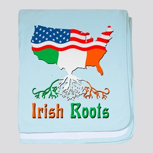 American Irish Roots baby blanket
