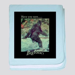 Have You Seen BIGFOOT? baby blanket