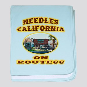 Needles California baby blanket