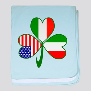 Shamrock of Italy baby blanket