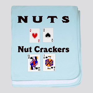 Nuts nut crackers Infant Blanket