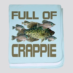 Full of Crappie Infant Blanket