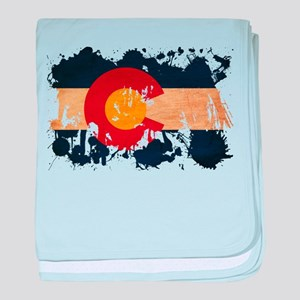 Colorado Flag baby blanket