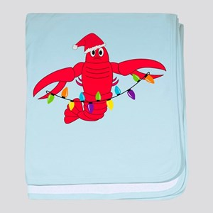 Sandy Claws baby blanket