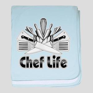 Chef Life baby blanket