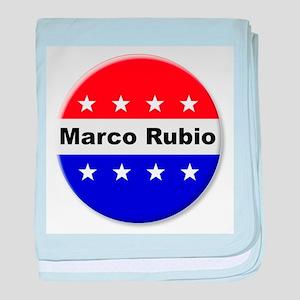 Vote Marco Rubio baby blanket