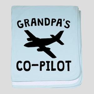 Grandpas Co-Pilot baby blanket
