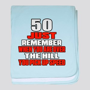 50 Just Remember Birthday Designs baby blanket