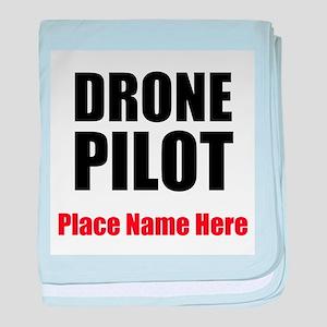 Drone Pilot baby blanket