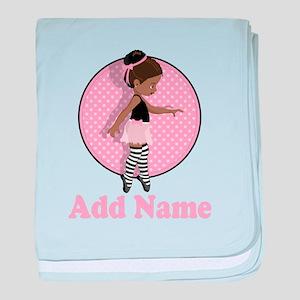 Sweet Ballerina baby blanket