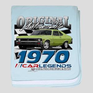 1970 Nova baby blanket