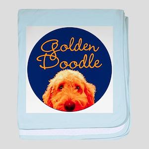 Golden Doodle baby blanket
