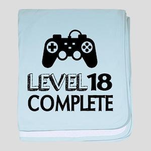 Level 18 Complete Birthday Designs baby blanket