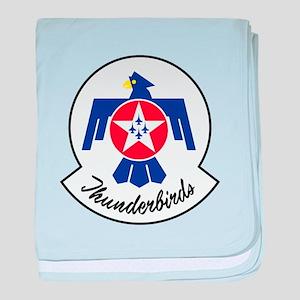 U.S. Air Force Thunderbirds baby blanket