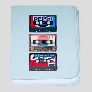 Pepsi Flashback Tapes baby blanket