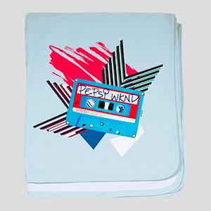 Pepsi Flashback Cassette baby blanket