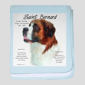 Saint Bernard (Rough) baby blanket