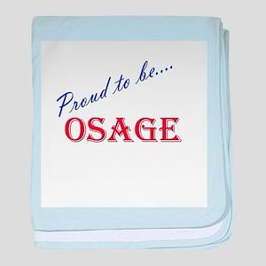 Osage baby blanket