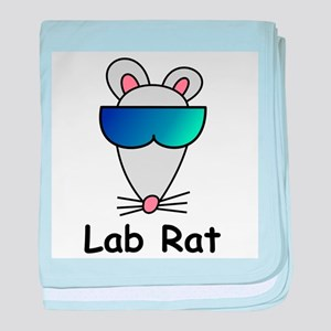 Lab Rat molecularshirts.com baby blanket