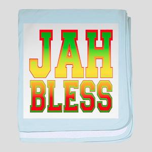 Jah Bless baby blanket