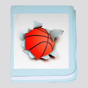 Basketball Burster Infant Blanket