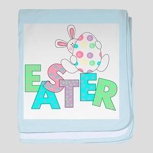 Bunny With Easter Egg Infant Blanket
