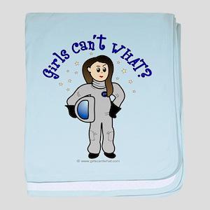 Light Astronaut baby blanket
