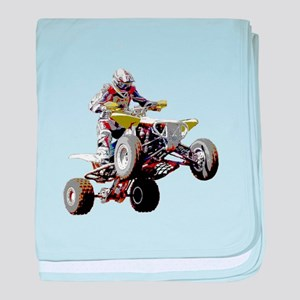 ATV Racing (color) baby blanket