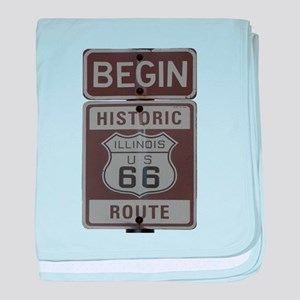 Route 66 Infant Blanket