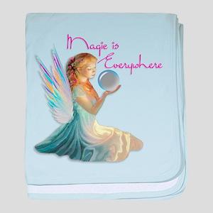 Magic Fairy Girl baby blanket