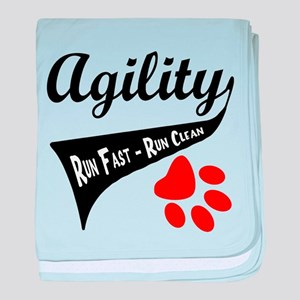 Agility Tail baby blanket