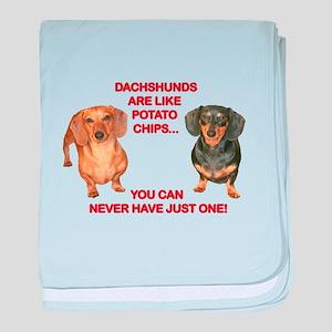Potato Chips baby blanket