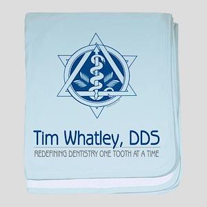 Tim Whatley DDS Seinfeld baby blanket