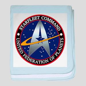 Starfleet Command baby blanket