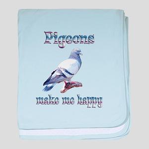 Pigeon Infant Blanket