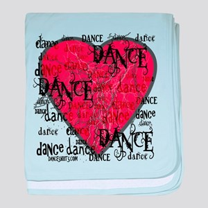 Funky Dance by DanceShirts.com baby blanket