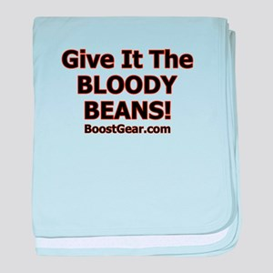 Give It The Beans - baby blanket
