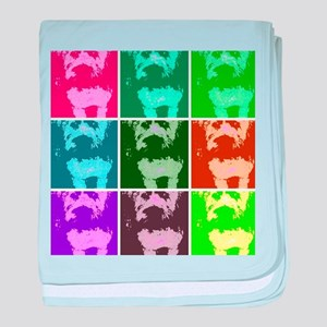 Wheaton Terrier Pop Art baby blanket