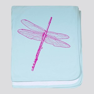Dragonfly Flute baby blanket