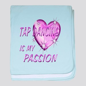 Tap Dancing Passion baby blanket