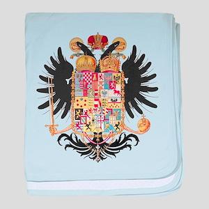 German Coat of Arms Vintage 1765 baby blanket